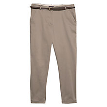 Buy Violeta by Mango Cotton Chinos Online at johnlewis.com