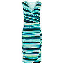 Buy Kaliko Strap Wrap Jersey Dress, Green/Multi Online at johnlewis.com