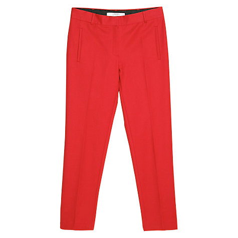 Buy Mango Suit Trousers, Amaranth Pink Online at johnlewis.com