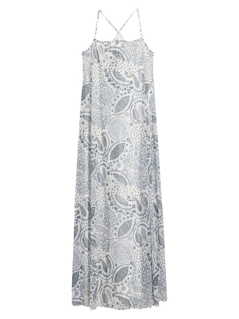 mango long printed dress natural white, mango, long, printed, dress, natural, white, 10|12|6|8, women, womens dresses, new in clothing, 1943554