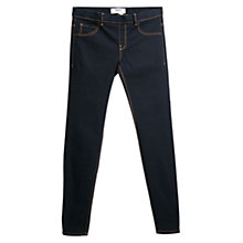Buy Mango Piti Jeggings, Open Blue Dark Online at johnlewis.com