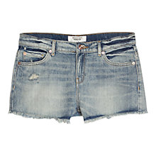 Buy Mango Denim Shorts, Open Blue Medium Online at johnlewis.com