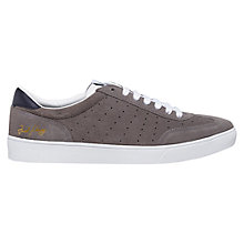 Buy Fred Perry Umpire Suede Trainers, Mid Grey Online at johnlewis.com