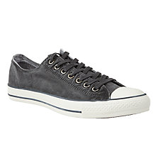 Buy Converse Chuck Taylor All Star Trainers, Washed Black Online at johnlewis.com