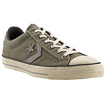 Buy Converse Cons Star Player Ox Trainers, Green Online at johnlewis.com