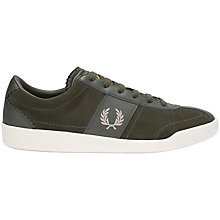 Buy Fred Perry Stockport Suede Trainers Online at johnlewis.com
