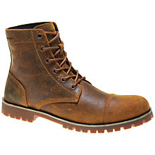 Buy Wolverine Wilbur Leather Boots, Tan Online at johnlewis.com