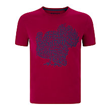 Buy Joules Turkey Words T-Shirt, Rich Plum Online at johnlewis.com