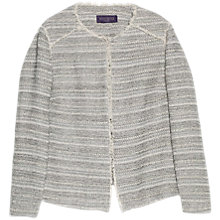 Buy Violeta by Mango Structured Fantasy Jacket, Light Pastel Grey Online at johnlewis.com
