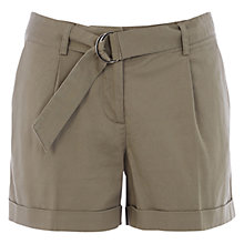 Buy Oasis Casual D Ring Shorts Online at johnlewis.com