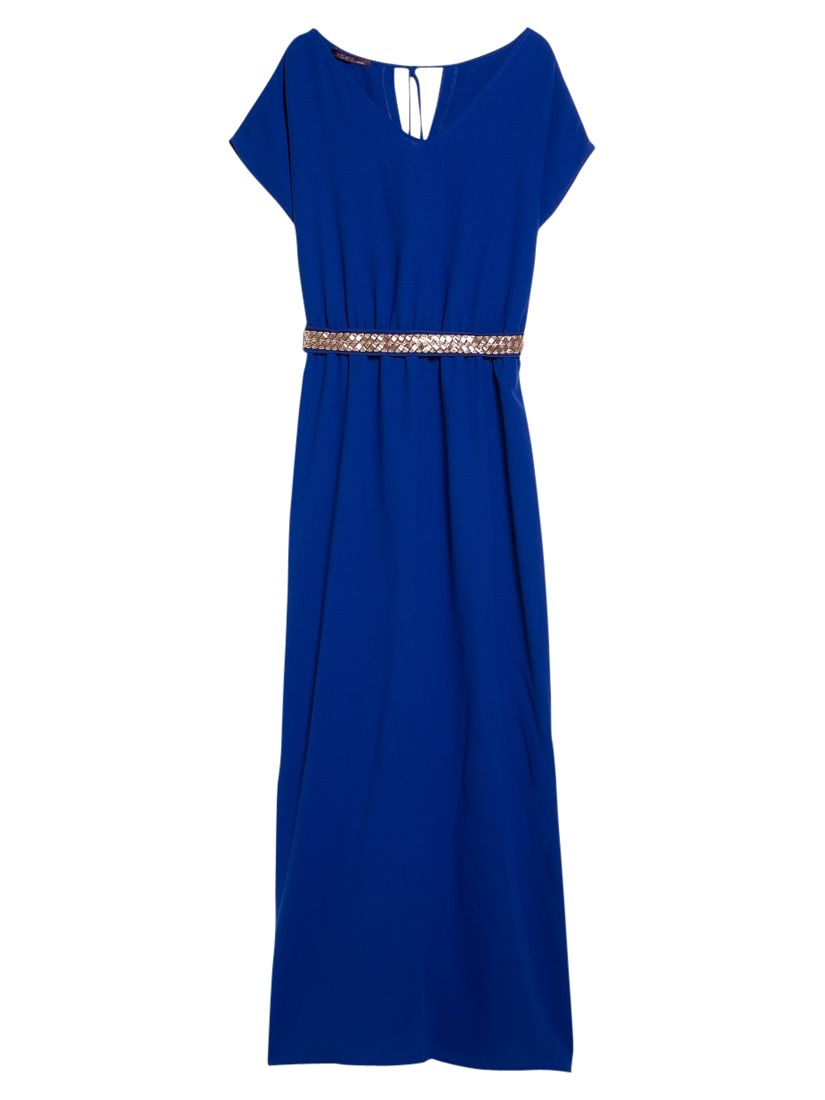 violeta by mango side slit gown electric blue, violeta, mango, side, slit, gown, electric, blue, violeta by mango, 22|20|14|16|18, women, plus size, womens dresses, new in clothing, womens holiday shop, beach bound, 1941606