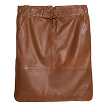 Buy Violeta by Mango Leather Skirt Online at johnlewis.com