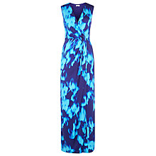 Buy Planet Twist Printed Maxi Dress, Blue Haze Online at johnlewis.com