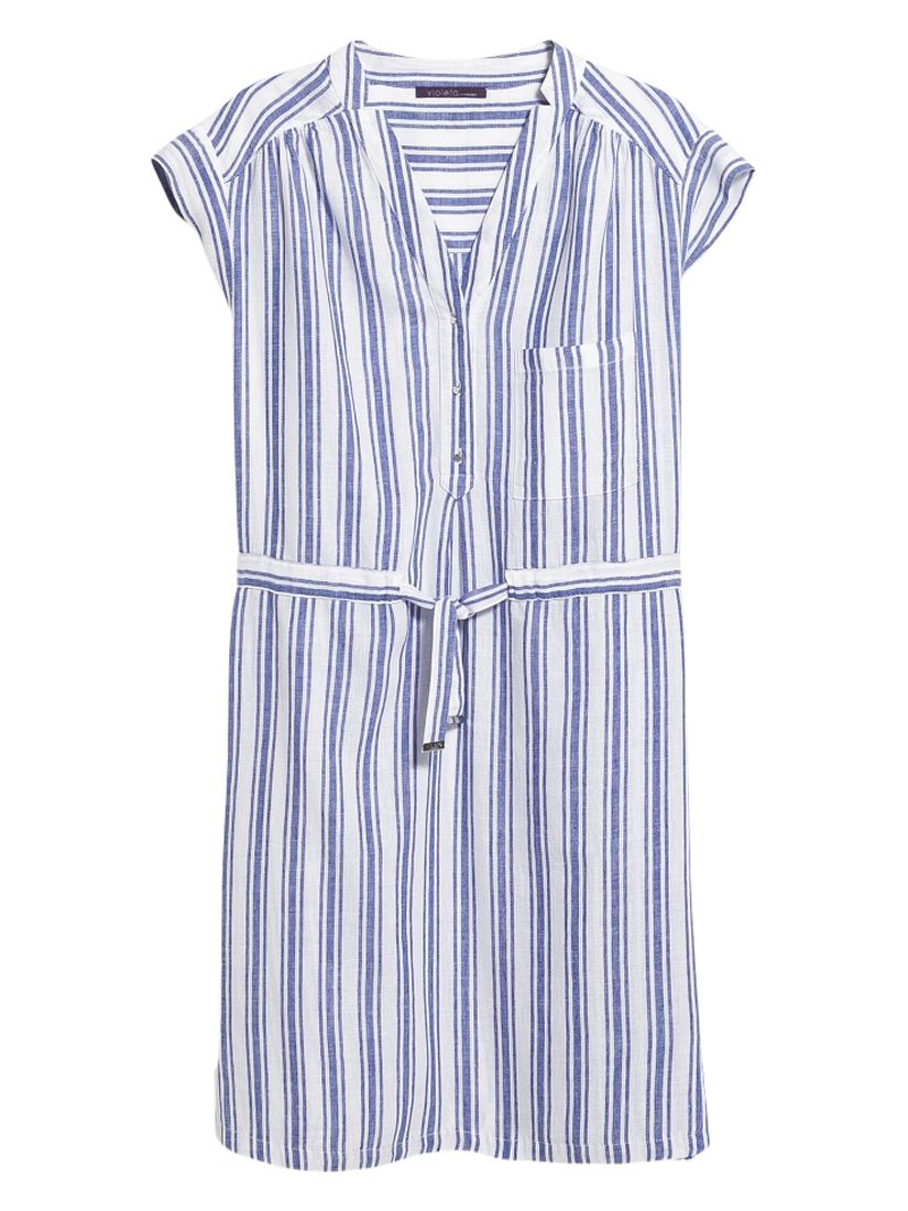 violeta by mango striped linen cotton dress dark lilac/white, violeta, mango, striped, linen, cotton, dress, dark, lilac/white, violeta by mango, 14|16|18|20|22, women, plus size, womens dresses, new in clothing, womens holiday shop, beach bound, 1941469