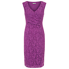 Buy Planet Lace Shift Dress, Mid Pink Online at johnlewis.com