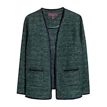 Buy Violeta by Mango Metallic Jacket, Emerald Green Online at johnlewis.com