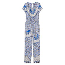 Buy Violeta by Mango Scarf Print Jumpsuit Online at johnlewis.com