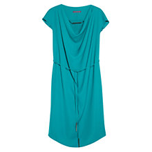 Buy Violeta by Mango Draped Neckline Dress Online at johnlewis.com