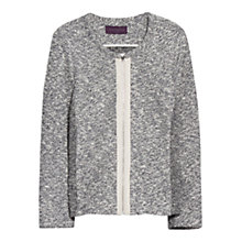 Buy Violeta by Mango Flecked Jacket, Dark Blue Online at johnlewis.com