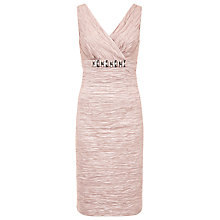 Buy Planet Ruched Dress, Oyster Online at johnlewis.com