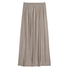 Buy Violeta by Mango Slit Hem Skirt, Sand Dune Online at johnlewis.com