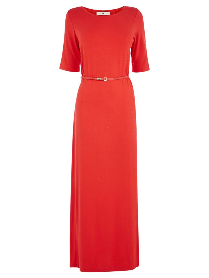 oasis column maxi dress, oasis, column, maxi, dress, mid red|mid red|mid red|mid red, m|s|l|xs, women, womens dresses, new in clothing, 1937958