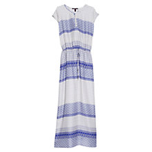 Buy Violeta by Mango Printed Maxi Dress, Windsong Online at johnlewis.com
