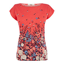 Buy Oasis Summer Meadow Border T-shirt, Multi Online at johnlewis.com