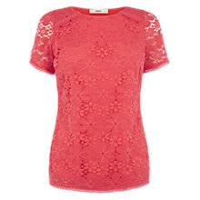 Buy Oasis Daisy Lace T-shirt Online at johnlewis.com