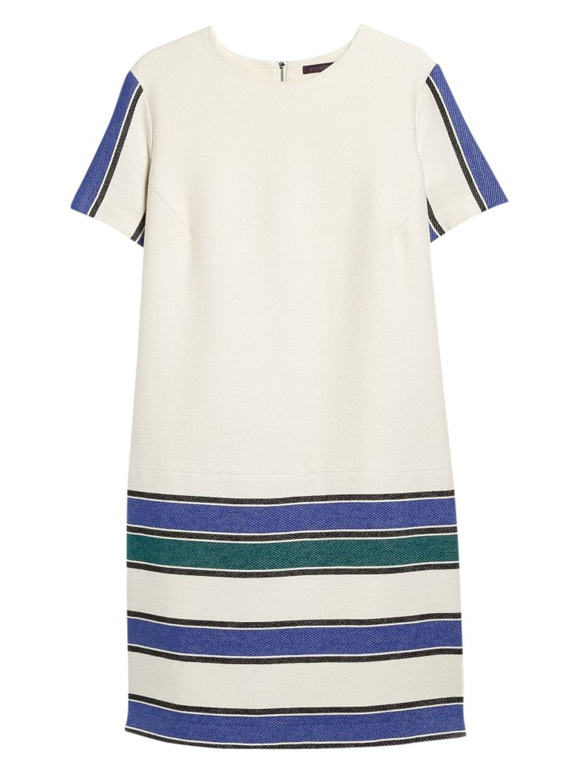 violeta by mango striped panel dress sea cloud, violeta, mango, striped, panel, dress, sea, cloud, violeta by mango, 16|20|18|22|14, women, plus size, womens dresses, new in clothing, womens holiday shop, city break, 1941700