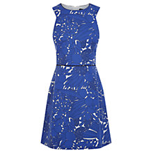 Buy Oasis Fruity Cut Out Dress, Multi Blue Online at johnlewis.com