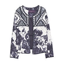 Buy Violeta by Mango Ethnic Bead Jacket, Navy Online at johnlewis.com