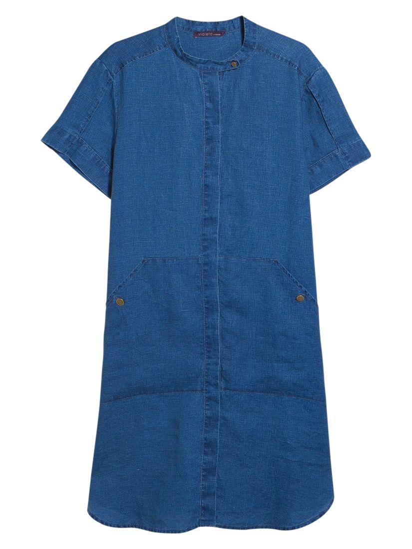 violeta by mango linen flowy dress open blue, violeta, mango, linen, flowy, dress, open, blue, violeta by mango, 14|18|16|22|20, women, plus size, womens dresses, new in clothing, 1941287