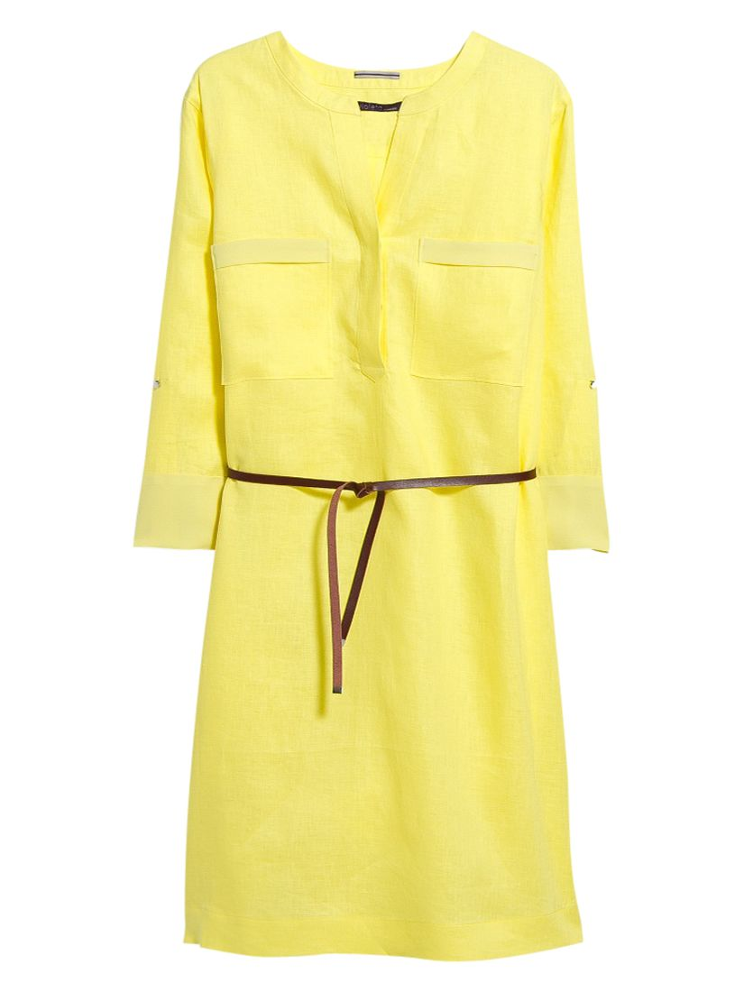 violeta by mango linen belted dress yellow, violeta, mango, linen, belted, dress, yellow, violeta by mango, 18|16|14|20|22, women, plus size, womens dresses, new in clothing, 1939926