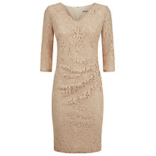 Buy Planet Lace Dress, Oyster Online at johnlewis.com