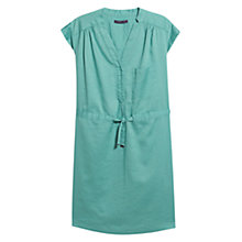 Buy Violeta by Mango Shirt Dress, Turquoise Online at johnlewis.com