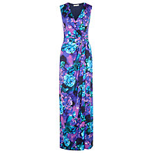 Buy Planet V-Neck Printed Maxi Dress, Multi Online at johnlewis.com
