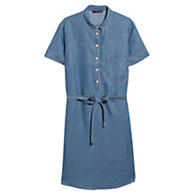 Buy Violeta by Mango Denim Shirt Dress, Mariana Blue Online at johnlewis.com