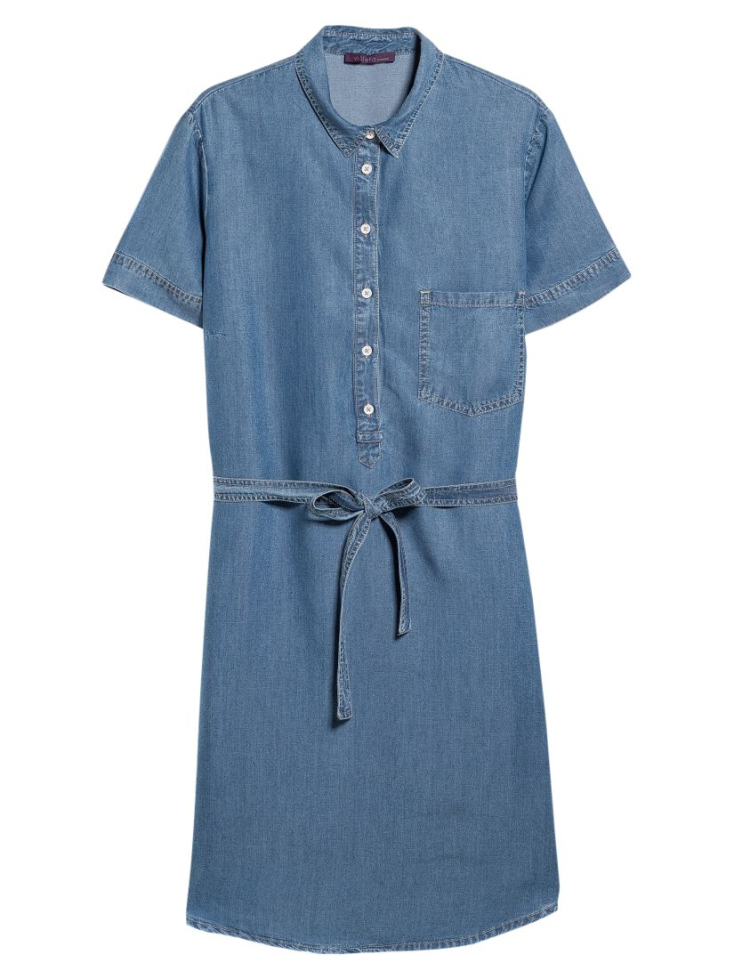 violeta by mango denim shirt dress mariana blue, violeta, mango, denim, shirt, dress, mariana, blue, violeta by mango, 18|22|16|20|14, women, plus size, womens dresses, new in clothing, 1941768