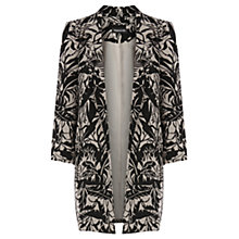 Buy Warehouse Pampas Leaf Jacket, Natural/Black Online at johnlewis.com