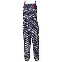Buy Fat Face Geo Print Jumpsuit, Light Navy Online at johnlewis.com