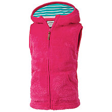 Buy Fat Face Girls' Fowey Fleece Gilet Online at johnlewis.com