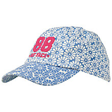 Buy Fat Face Girls' Daisy Printed Baseball Cap, Blue Online at johnlewis.com