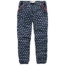 Buy Fat Face Betty Geo Beach Pant, Light Navy Online at johnlewis.com
