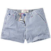 Buy Fat Face Ticking Stripe Shorts, Cloud Online at johnlewis.com