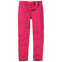 Buy Fat Face Millisle Bright Jeggings, Watermelon Online at johnlewis.com