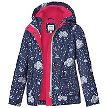 Buy Fat Face Girls' Cloud Print Jacket, Blue Online at johnlewis.com
