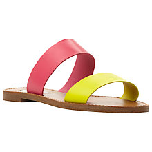 Buy Steve Madden Dband Double Strap Sandals Online at johnlewis.com