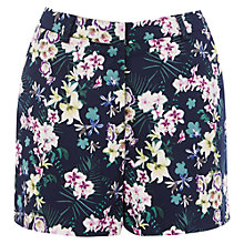 Buy Warehouse Lily Print Shorts, Multi Online at johnlewis.com