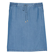 Buy Violeta by Mango Denim Soft Skirt, Pompeii Online at johnlewis.com